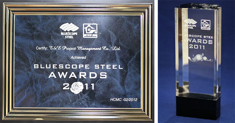 Bluescope Steel Award 2011